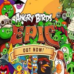 Взломанный Angry Birds Epic на андроид, играть стало легче!
