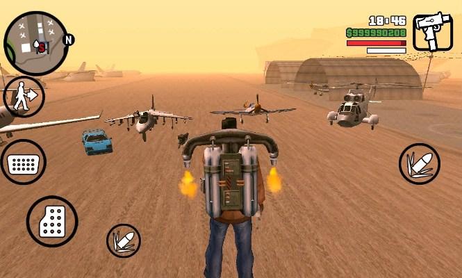 GTA San Andreas взломанная версия для android