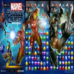 Взломанная Marvel Puzzle Quest