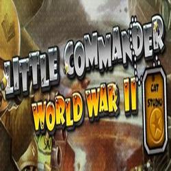 Взломанная версия Маленький Командир: WWII TD на Андроид!