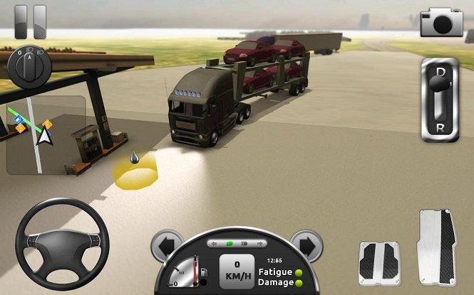 Мод на Truck Simulator 3D на андроид
