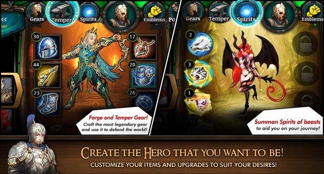 Хак для Heroes of Atlan на Андроид. Против зла!