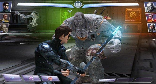 Мод для Injustice Gods Among Us на Android. Поединок героев!