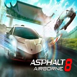 Взломанная версия для Asphalt 8: Airborne на Андроид!