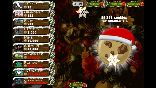Увлекательная Cookie Clickers™ Christmas ed на андроид + взлом
