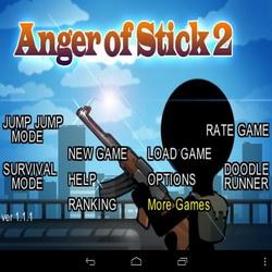 Лучший экшен последнего времени! Anger of Stick 2 на андроид + мод