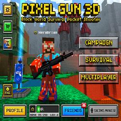 Pixel Gun 3D на андроид подарит вам много позитива!