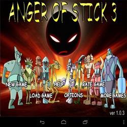 Динамичный экшен Anger of Stick 3 + читы