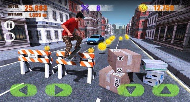 Взломанная версия для Street Skater 3D: 2 на Андроид!
