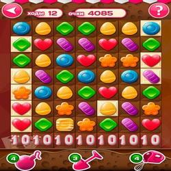 Хак на Конфетки! на андроид - игра для любителей сладкого