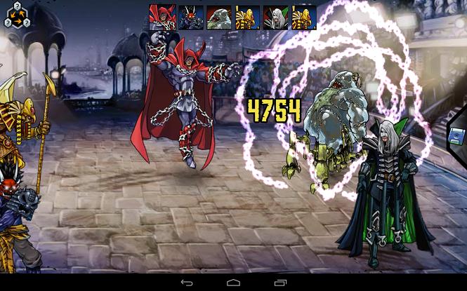 Тренируйте своих мутантов в Mutants: Genetic Gladiators на android + мод