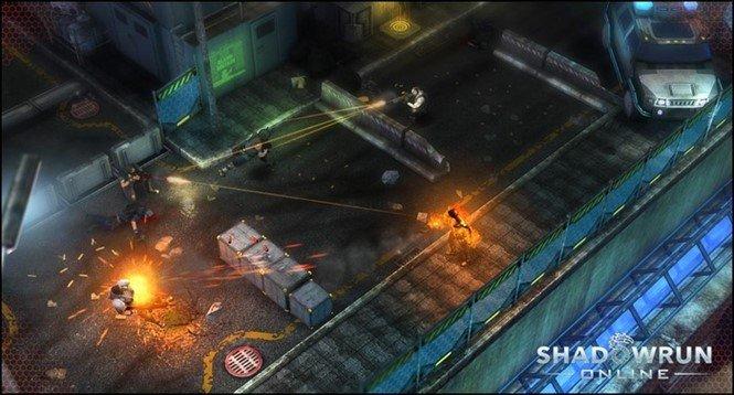Мод для Shadowrun Online на Андроид. События в будущем!