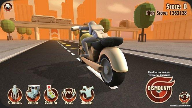 Мод на уникальный симулятор Turbo Dismount на андроид