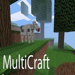 Мод для MultiCraft II на Android. Постройка началась!