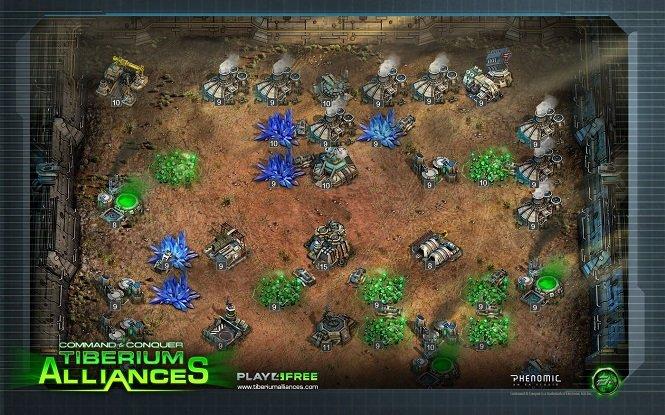 Продолжение войны за Тиберий в игре Command & Conquer Tiberium Alliances на андроид + читы