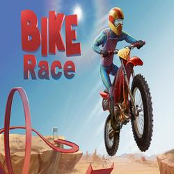 Интересная гонка Bike Race Free на андроид + хак