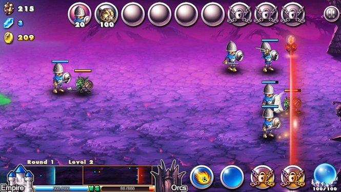Хак на Empire VS Orcs - выберите свою сторону и вперед воевать!