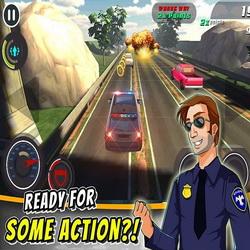 Головокружительные погони в игре Cop Riot! на андроид + читы