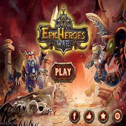 Красочная стратегия Epic Heroes War на андроид + хак