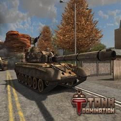 Куча взрывов и полный хаос на поле боя! Мод на Tank Domination на андроид
