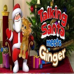 Чит для Talking Santa Meets Ginger на Андроид. Приколы для Санты!