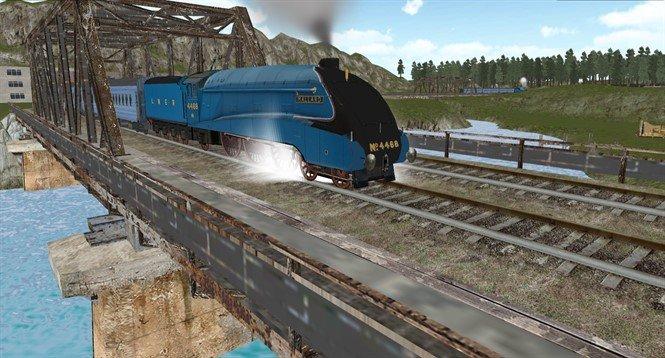 Мод для Train Simulator Drive на Андроид. Железнодорожные поездки!
