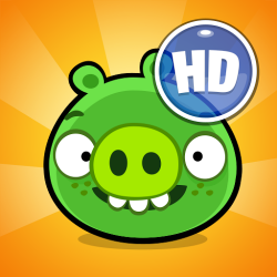 Мод Bad Piggies HD на андроид - победи свинью!