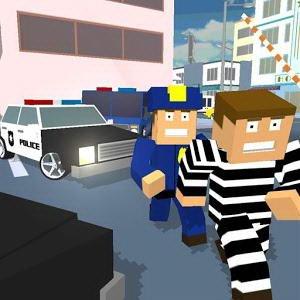 Чит для Blocky Cop Craft Running Thief на андроид