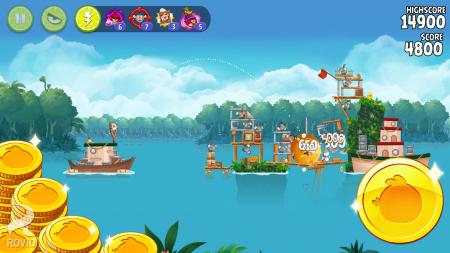 Чит для Angry Birds Rio на android