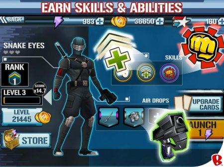 Чит для G.I. Joe: Strike на android