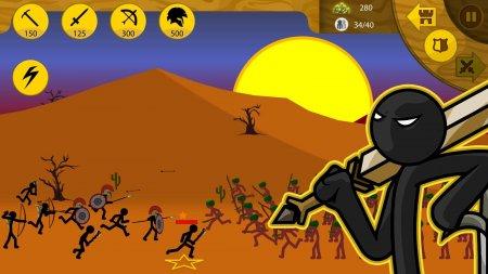 Чит для Stick War: Legacy Мод на кристаллы  на android