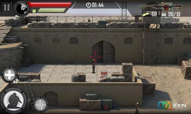 Обилие взрывного экшена внутри взломанной 3D Multiplayer Shooter на android